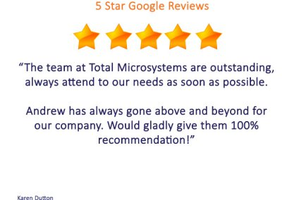 Google Reviews - karen dutton
