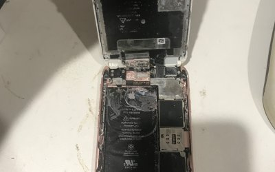 Data Recovery from water damaged iPhone 6
